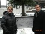 Superintendent Diana Rigby and Deputy Superintendent  John Flaherty