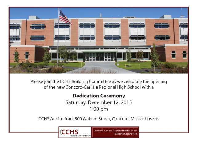 Dedication Invite